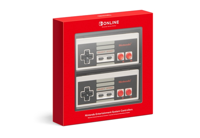 Nintendo Entertainment System Controllers in package